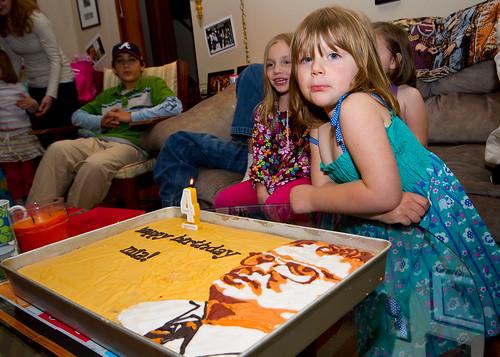 Mia and Cake