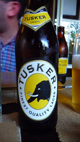 Day 2 - A Tusker at dinner