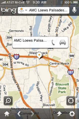 Bing iPhone App Updated 6/22/2010