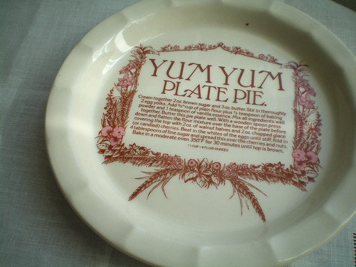 Thrifted: pie plate