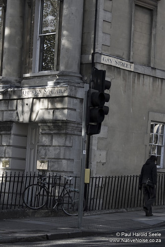 Corner of Gay Street and Queen Square (Bath, United Kingdom)