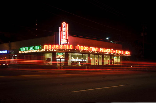 Majestic Diner With Taillights