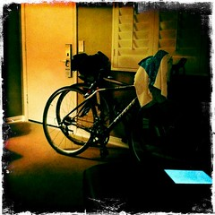 still life with bikes