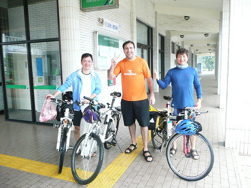 Fellow Riders in Fulong