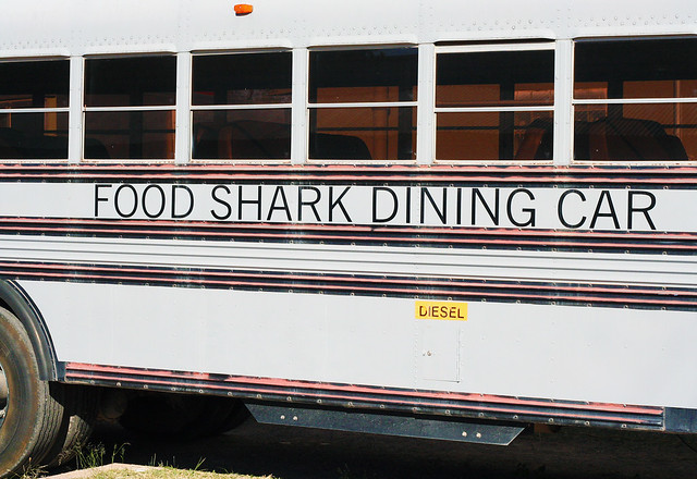 food shark dining car