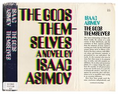 The Gods Themselves (Unkee E.) Tags: illustration vintage typography graphicdesign coverart books bookcover bookcovers bookjacket isaacasimov thegodsthemselves vintagebookcovers bookcoverillustration davidnovember