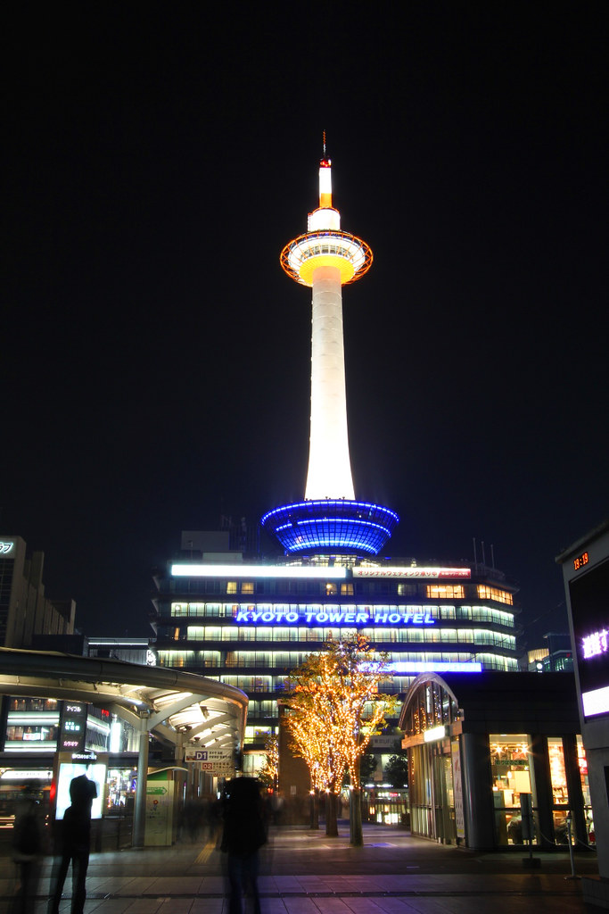 A Japan photo No.387Kyoto Tower