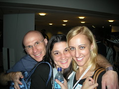 Brent Csutoras, Lisa Barone, Carolyn Shelby at MSN Party at SMX Advanced 2007