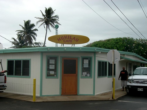 Hukilau Cafe in Laie, Oahu