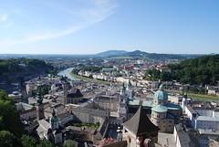 Looking down Salzburg
