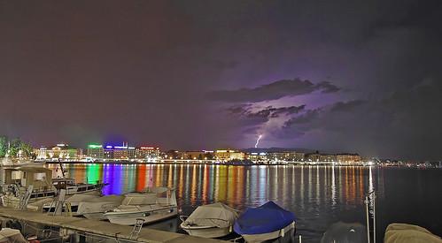 Thunderstorm over Geneva, courtesy villocks CC2007