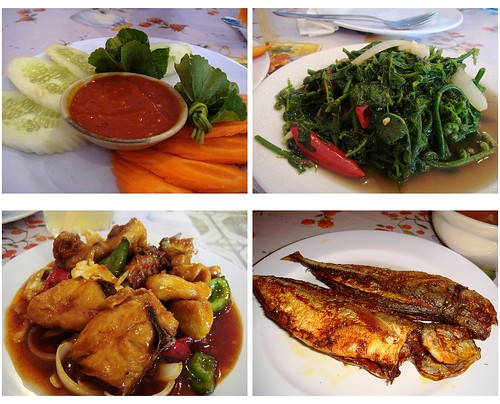 Ambuyat side dishes