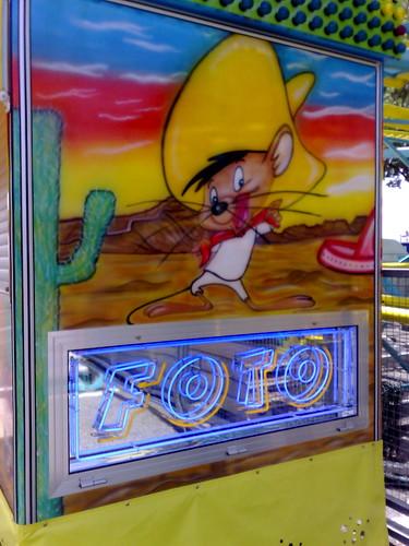 Wandering in a Carnival: Speedy Gonzales