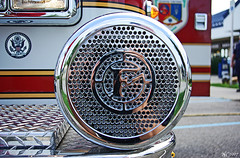 Fire Truck Siren (norjam8) Tags: red yellow truck fire firetruck chrome siren imgp0063p norjamss