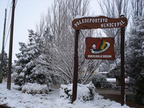 El Polideportivo Municipal cubierto de