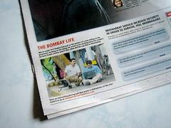 Mumbai Mirror - that is not in Mumbai (Brajeshwar) Tags: life photo newspaper traffic bangalore police bombay mumbai pradeep mapunity