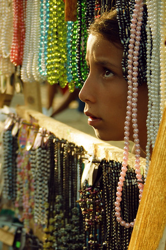 the girl who sells beads