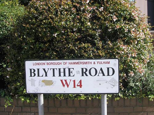 Blythe road!