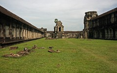 Angkor Wat Courtyard