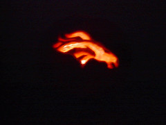 Denver Broncos logo, lit (2001)