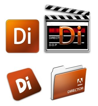 Adobe Director 11 Icons