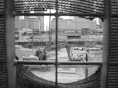 ground zero black and white (steffw) Tags: construction groundzero newyorkamerica