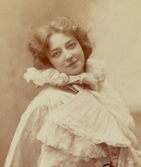 Anna Held, 1897 (rosewithoutathorn84) Tags: beauty singer actress jewish performer vaudeville comedienne ziegfeldfollies annaheld