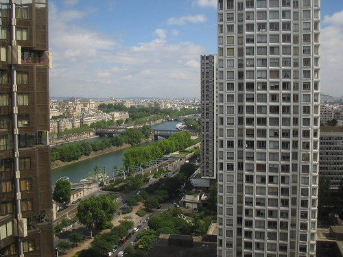 Paris from the Novotel