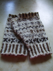 fairisle mitts
