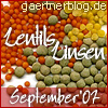 Garten-Koch-Event: Lentils - Linsen [30. September 2007]
