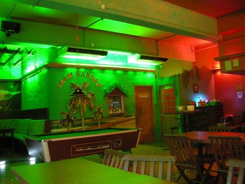 Pool table and Drinks Bar