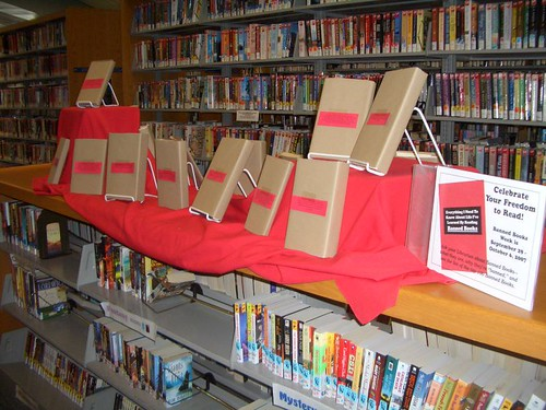 Banned Books Display