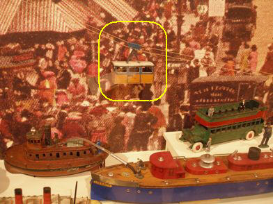 Transit Museum - Tram Car in Toy Exhibit