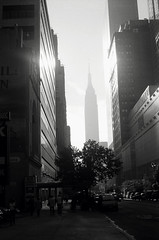 the morning light when it's in your face (Nesster) Tags: nyc empirestate kodak retinaiia abigfave retinaxenon 502 schneiderkreuznach f20 50mm