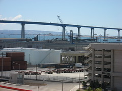 Coronado Bridge (Eric Harmatz) Tags: sandiego baseball padres ballpark coronadobridge petcopark