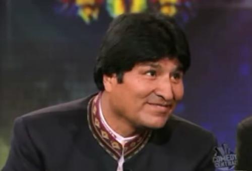 Evo Morales en USA