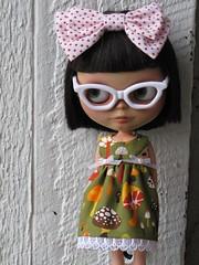 Mushroom Garden summer dress