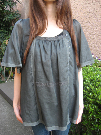 Ramie smock top from Paul & Joe Sister