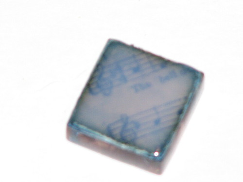 Distressed Glass Tile Charms II 004