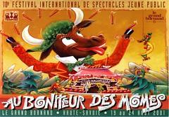 Affiche Festival Au Bonheur des Momes-2001