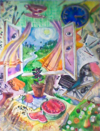 Summer 2000 Watercolor on paper