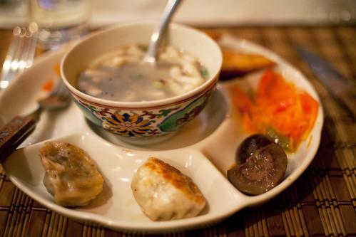 Mongolsk tradisjonsmat