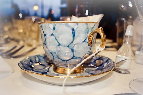 Teacup Favour Blue