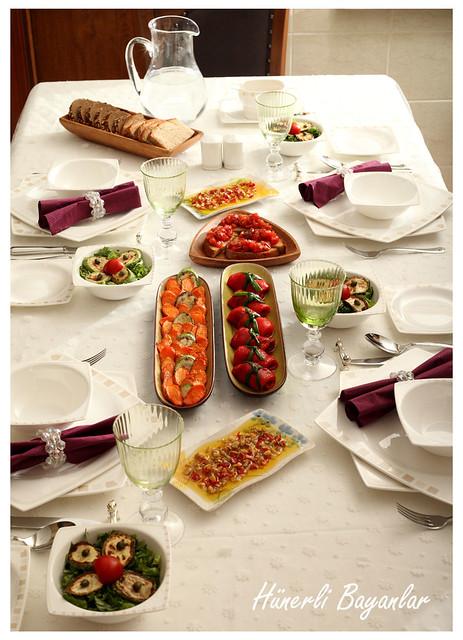 Akşam Yemeği Davet Sofrası (Dumanlı Ailesi)-10