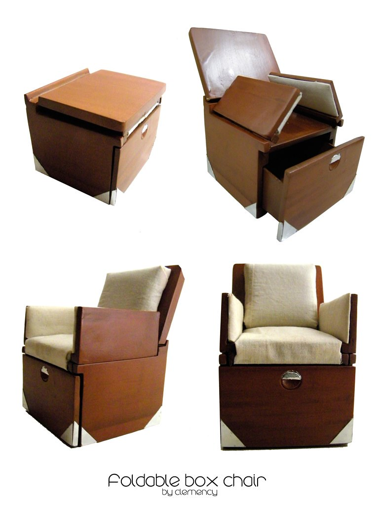 Clemency - Foldable Box Chair