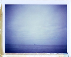 Point Loma, CA (moominsean) Tags: ocean california morning polaroid peace pacific sandiego distance 190 pointloma iduv expired022008