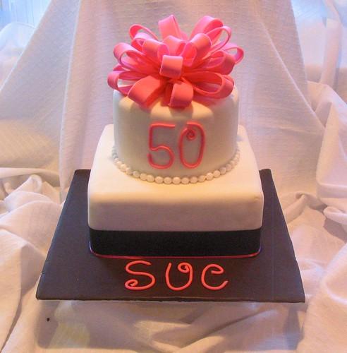 Whimsical Bakery 50th Birthday Cake