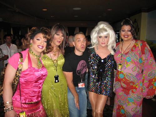 Nina, Blanche, Wanda, Bunny, Violet