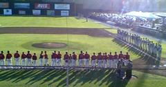 Vancouver Canadians Home Opener