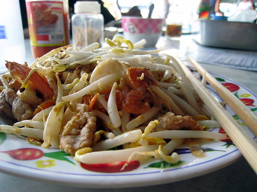 The first Pad Thai
